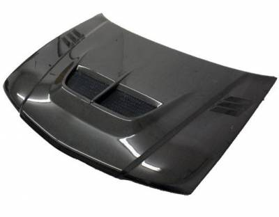 VIS Racing - Carbon Fiber Hood Cyber Style for Mitsubishi Mirage (JDM) W/B 4DR 97-01 - Image 1