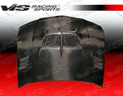 VIS Racing - Carbon Fiber Hood Cyber Style for Mitsubishi Mirage (JDM) W/B 4DR 97-01 - Image 2