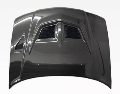 VIS Racing - Carbon Fiber Hood EVO Style for Mitsubishi Mirage (JDM) W/B 4DR 97-01 - Image 3