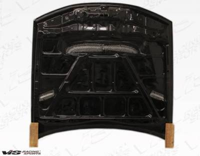 VIS Racing - Carbon Fiber Hood Drift 2 Style for Nissan 240SX 2DR 97-98 - Image 4