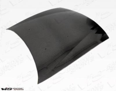 VIS Racing - Carbon Fiber Hood OEM Style for Nissan 240SX 2DR 97-98 - Image 3