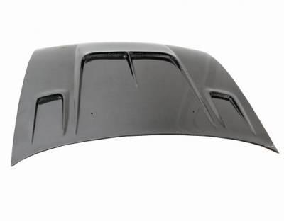 VIS Racing - Carbon Fiber Hood Drift 2 Style for Nissan 240SX 2DR 95-96 - Image 3