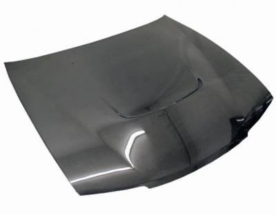 VIS Racing - Carbon Fiber Hood JS Style for Nissan 240SX 2DR 95-96 - Image 2