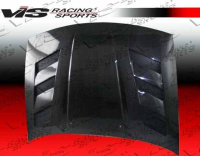 VIS Racing - Carbon Fiber Hood AMS Style for Nissan 300ZX 2DR & 2+2 90-96 - Image 2