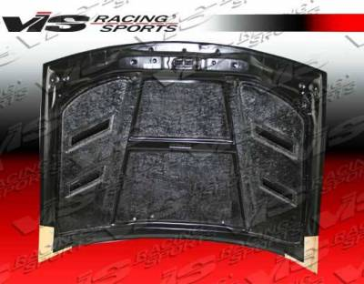 VIS Racing - Carbon Fiber Hood AMS Style for Nissan 300ZX 2DR & 2+2 90-96 - Image 3