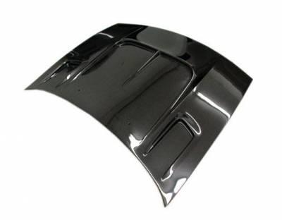 VIS Racing - Carbon Fiber Hood Drift 2 Style for Nissan 300ZX 2DR 90-96 - Image 1