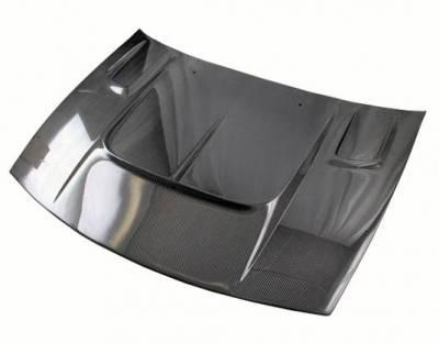 VIS Racing - Carbon Fiber Hood Drift 2 Style for Nissan 300ZX 2DR 90-96 - Image 2