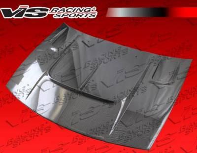 VIS Racing - Carbon Fiber Hood Drift 2 Style for Nissan 300ZX 2DR 90-96 - Image 3