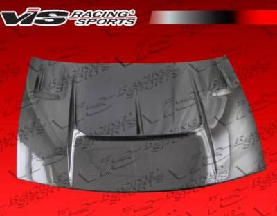VIS Racing - Carbon Fiber Hood Drift 2 Style for Nissan 300ZX 2DR 90-96 - Image 4