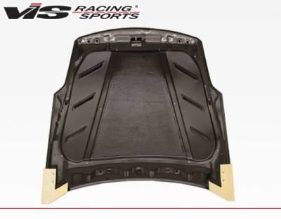 VIS Racing - Carbon Fiber Hood Astek Style for Nissan 350Z 2DR 03-08 - Image 4