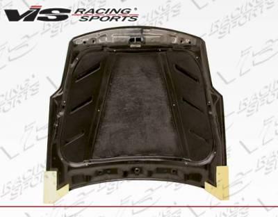 VIS Racing - Carbon Fiber Hood Astek Style for Nissan 350Z 2DR 03-08 - Image 5