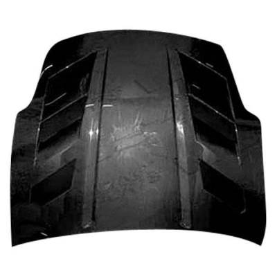 VIS Racing - Carbon Fiber Hood AMS Style for Nissan 350Z 2DR 03-06 - Image 2