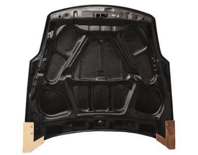 VIS Racing - Carbon Fiber Hood OEM Style for Nissan 350Z 2DR 03-06 - Image 3
