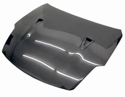 VIS Racing - Carbon Fiber Hood R35 Style for Nissan 350Z 2DR 03-06 - Image 1