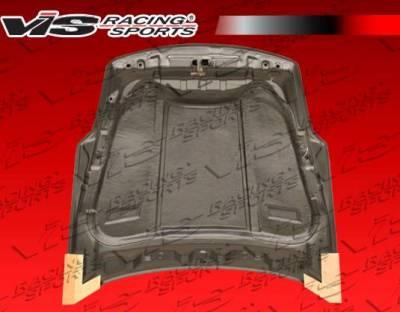 VIS Racing - Carbon Fiber Hood R35 Style for Nissan 350Z 2DR 03-06 - Image 3