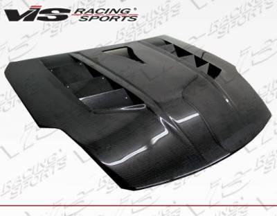 VIS Racing - Carbon Fiber Hood Sniper Style for Nissan 350Z 2DR 03-06 - Image 2