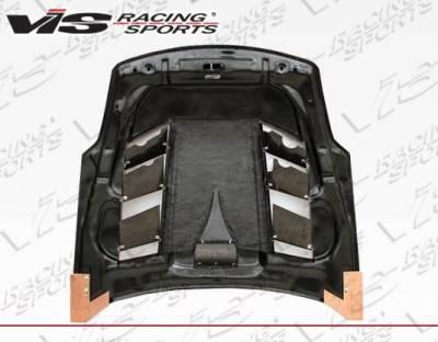 VIS Racing - Carbon Fiber Hood Sniper Style for Nissan 350Z 2DR 03-06 - Image 4