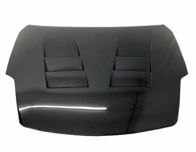 VIS Racing - Carbon Fiber Hood Terminator  Style for Nissan 350Z 2DR 03-06 - Image 1
