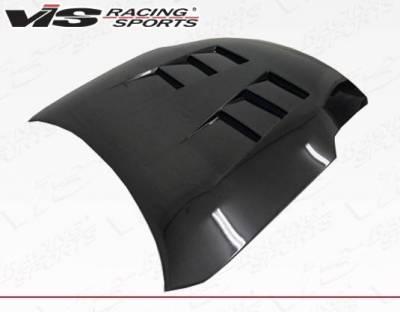 VIS Racing - Carbon Fiber Hood Terminator  Style for Nissan 350Z 2DR 03-06 - Image 3