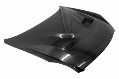 VIS Racing - Carbon Fiber Hood Terminator 2 Style for Nissan 350Z 2DR 03-06 - Image 1