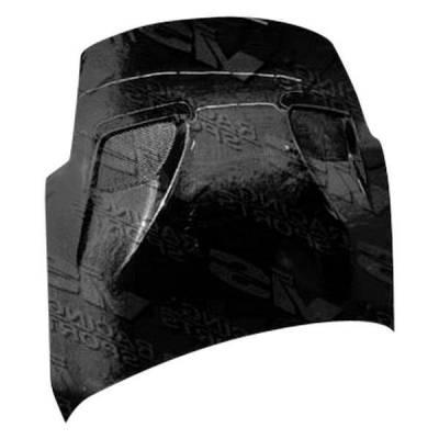 VIS Racing - Carbon Fiber Hood Terminator 2 Style for Nissan 350Z 2DR 03-06 - Image 2