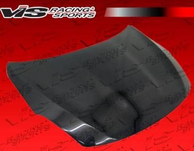 VIS Racing - Carbon Fiber Hood OEM Style for Nissan Altima 2DR & 4DR 10-12 - Image 1