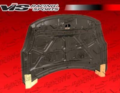 VIS Racing - Carbon Fiber Hood OEM Style for Nissan Altima 2DR & 4DR 10-12 - Image 4