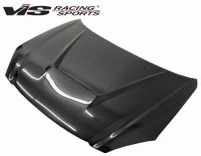 VIS Racing - Carbon Fiber Hood Invader Style for Nissan Altima 4DR 02-04 - Image 2