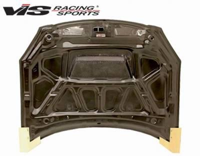 VIS Racing - Carbon Fiber Hood Invader Style for Nissan Altima 4DR 02-04 - Image 4