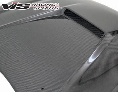 VIS Racing - Carbon Fiber Hood Invader Style for Nissan Altima 4DR 02-04 - Image 5