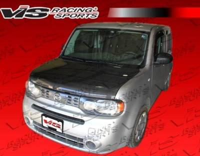 VIS Racing - Carbon Fiber Hood OEM Style for Nissan Cube 4DR 2009-2014 - Image 3