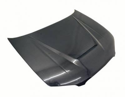 VIS Racing - Carbon Fiber Hood Invader Style for Nissan Maxima 4DR 00-03 - Image 1