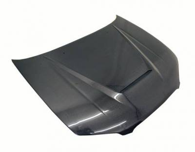 VIS Racing - Carbon Fiber Hood Invader Style for Nissan Maxima 4DR 00-03 - Image 2