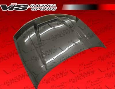 VIS Racing - Carbon Fiber Hood Invader Style for Nissan Maxima 4DR 00-03 - Image 3