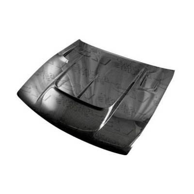 VIS Racing - Carbon Fiber Hood Drift 2 Style for Nissan S13 2DR 89-94 - Image 2