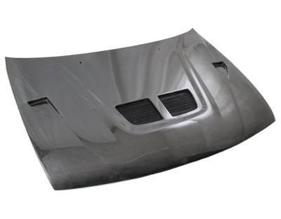 VIS Racing - Carbon Fiber Hood EVO Style for Nissan Sentra 2DR 95-99 - Image 1