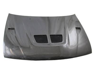 VIS Racing - Carbon Fiber Hood EVO Style for Nissan Sentra 2DR 95-99 - Image 2