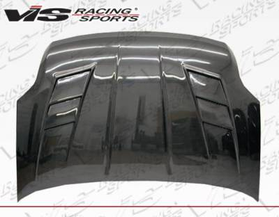 VIS Racing - Carbon Fiber Hood Terminator Style for Nissan Sentra 4DR 07-12 - Image 2