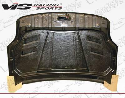 VIS Racing - Carbon Fiber Hood Terminator Style for Nissan Sentra 4DR 07-12 - Image 3
