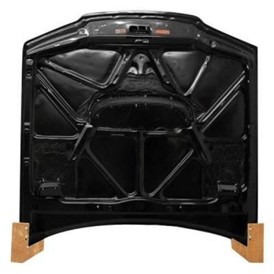VIS Racing - Carbon Fiber Hood JS Style for Nissan SKYLINE R32 (GTR) 2DR 90-94 - Image 2