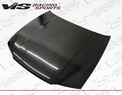 VIS Racing - Carbon Fiber Hood OEM Style for Nissan SKYLINE R33 (GTR) 2DR 95-98 - Image 1