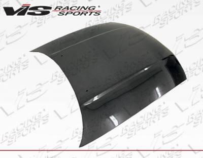 VIS Racing - Carbon Fiber Hood OEM Style for Nissan SKYLINE R33 (GTR) 2DR 95-98 - Image 3