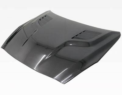 VIS Racing - Carbon Fiber Hood GT Style for Nissan SKYLINE R35 (GTR) 2DR 2009-2020 - Image 2