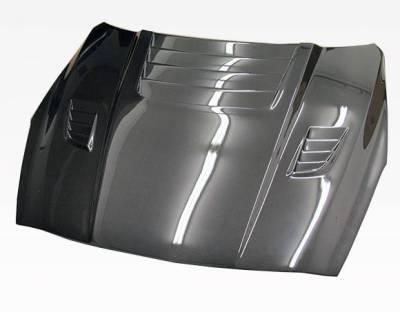 VIS Racing - Carbon Fiber Hood GT 2 Style for Nissan SKYLINE R35 (GTR) 2DR 2009-2020 - Image 1