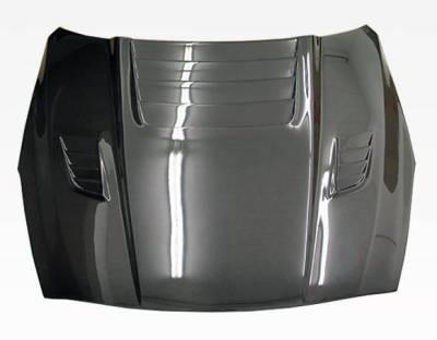 VIS Racing - Carbon Fiber Hood GT 2 Style for Nissan SKYLINE R35 (GTR) 2DR 2009-2020 - Image 3