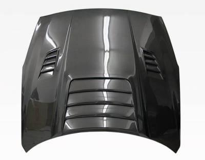 VIS Racing - Carbon Fiber Hood GT 2 Style for Nissan SKYLINE R35 (GTR) 2DR 2009-2020 - Image 4