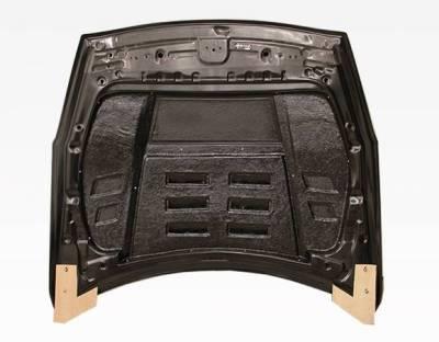 VIS Racing - Carbon Fiber Hood GT 2 Style for Nissan SKYLINE R35 (GTR) 2DR 2009-2020 - Image 5