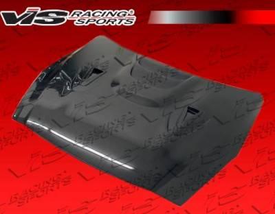 VIS Racing - Carbon Fiber Hood MS Style for Nissan SKYLINE R35 (GTR) 2DR 2009-2020 - Image 3