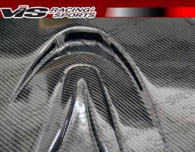 VIS Racing - Carbon Fiber Hood MS Style for Nissan SKYLINE R35 (GTR) 2DR 2009-2020 - Image 4