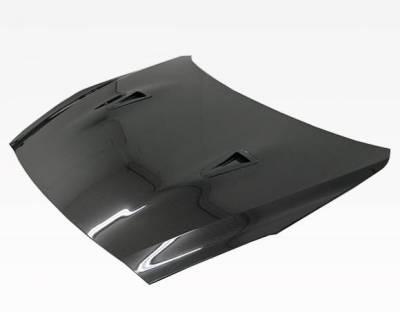 VIS Racing - Carbon Fiber Hood OEM  Style for Nissan SKYLINE R35 (GTR) 2DR 2009-2020 - Image 1